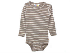 Joha body navy stripe uld silke